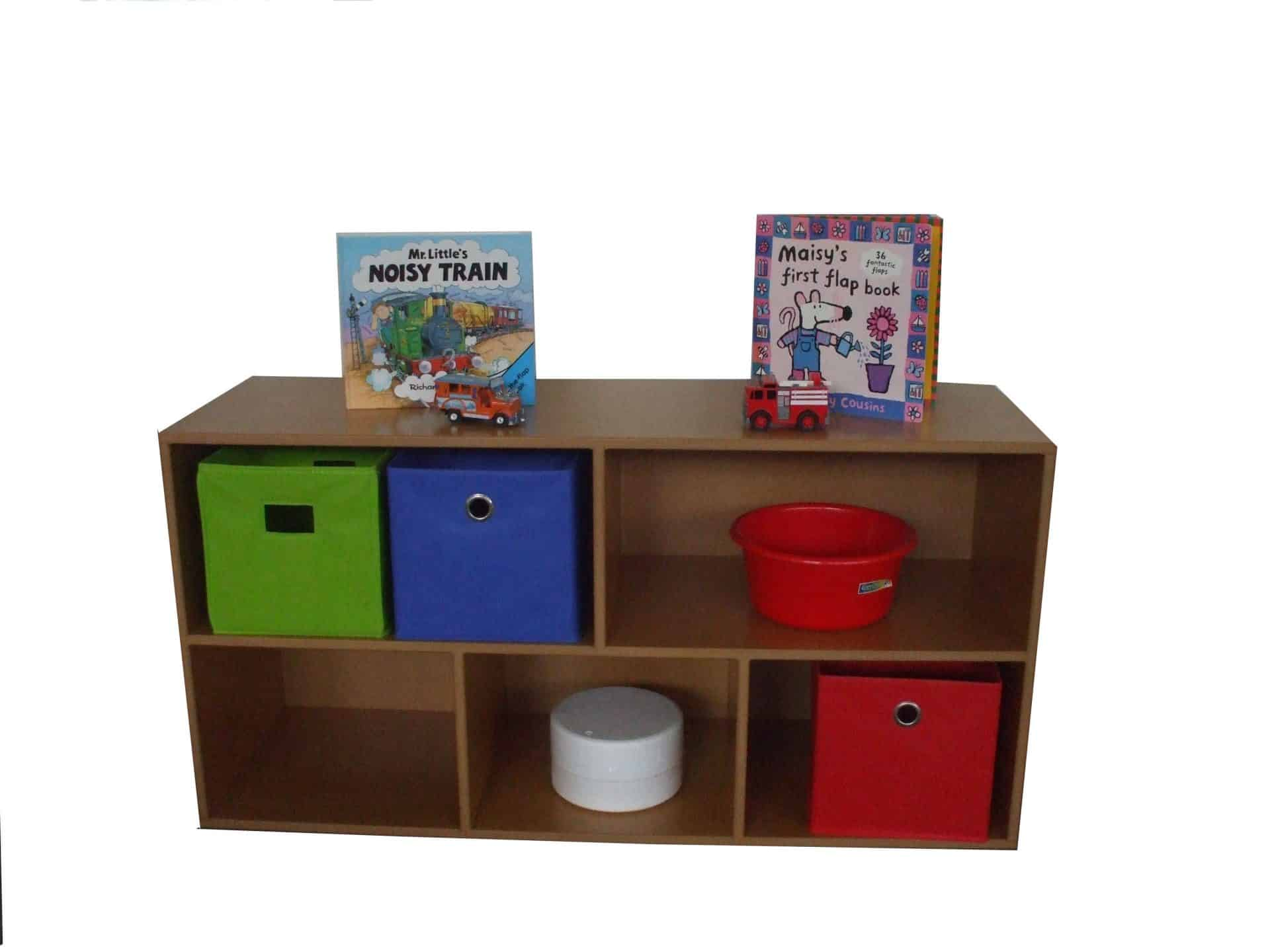 Book toy storage 5 bay 3d products for Storage bay