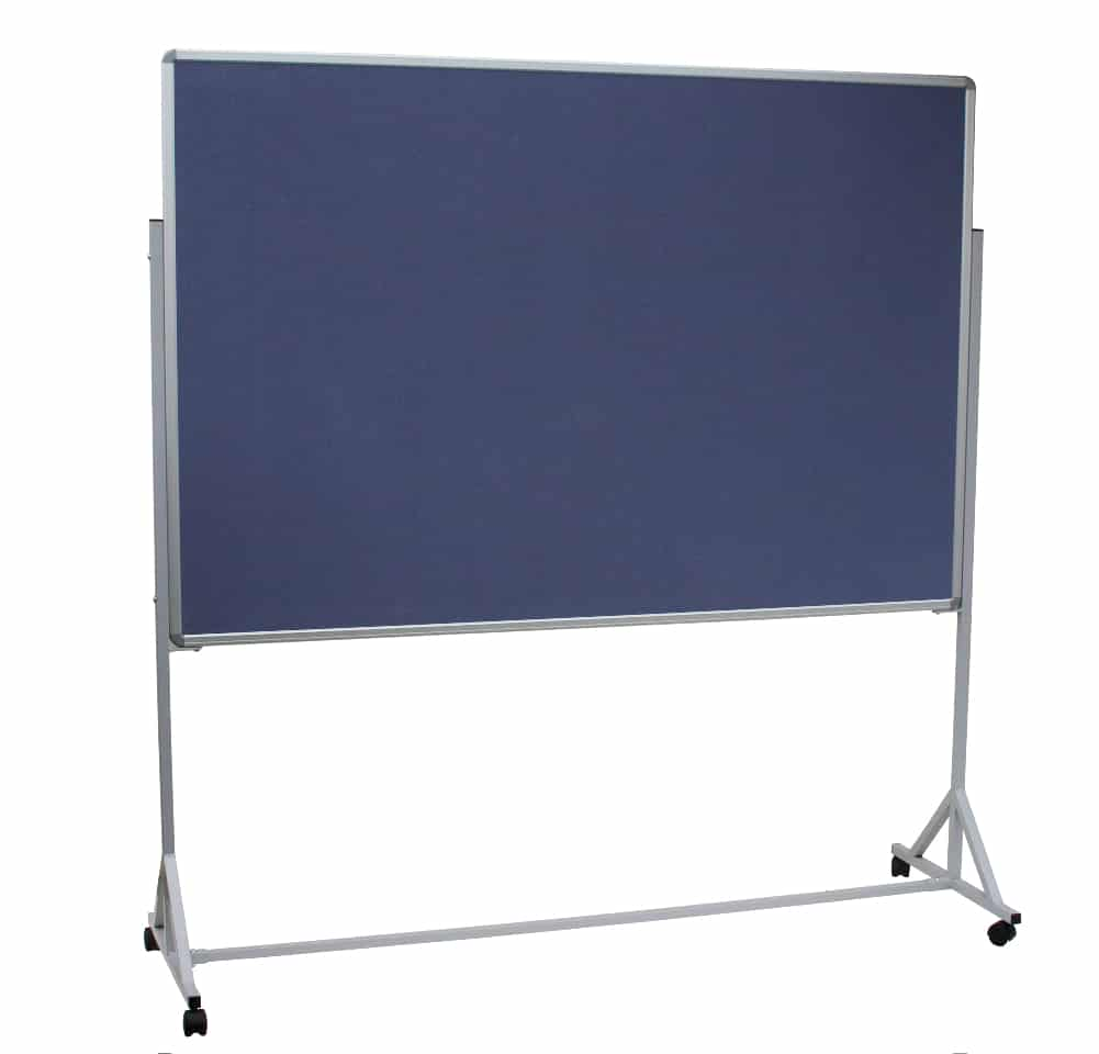 05MNBT Mobile Noticeboard Trolley - 3D Products