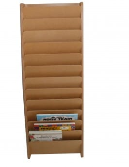 Vertical Portfolio/Book Rack