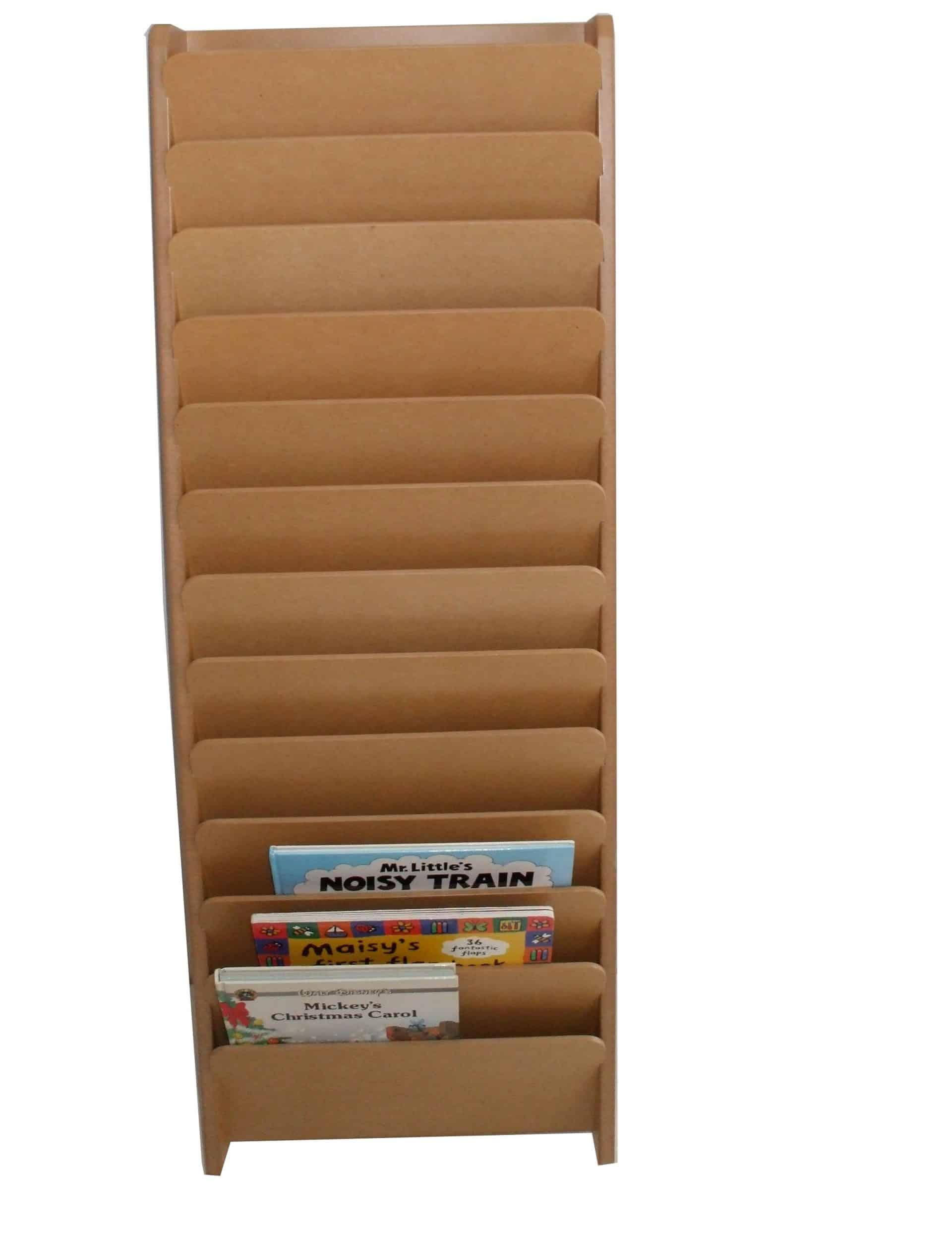 Wall Book Rack Furniture Fancy Transparent Plastic