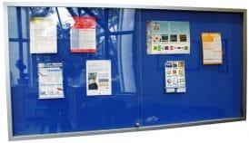 Lockable Noticeboard