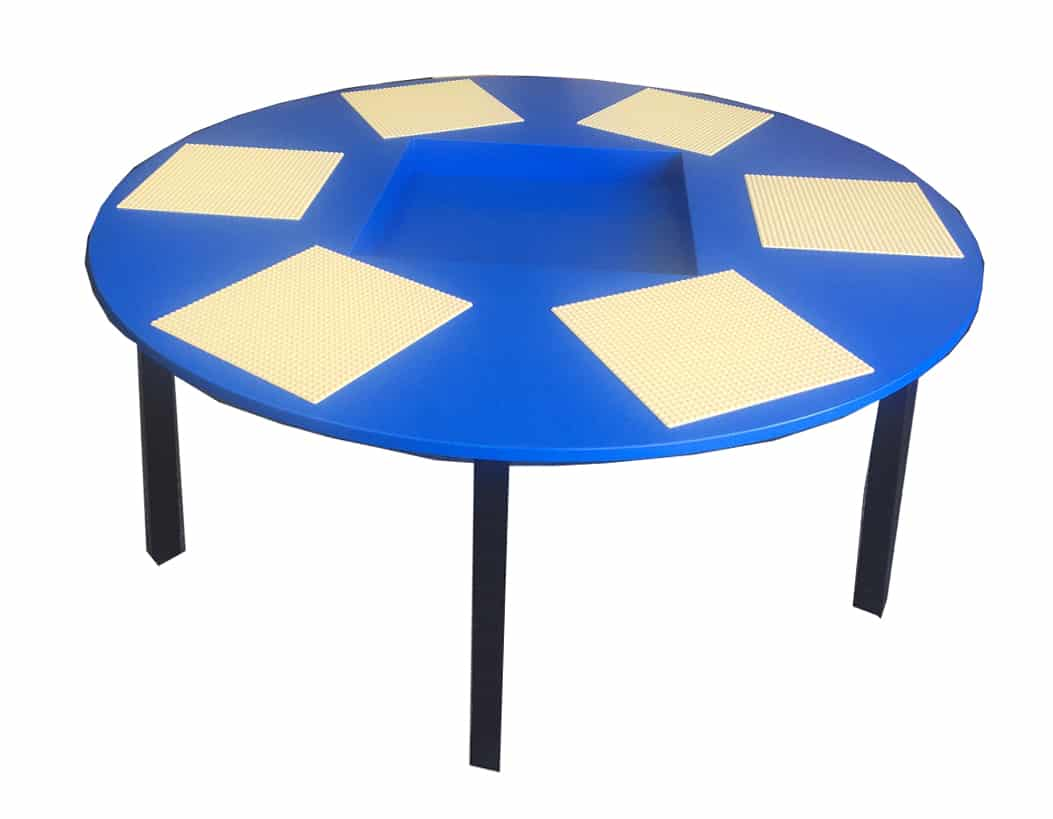 Fc020r round lego table 6 lego board spaces 3d products for Table 6 of gst