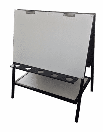 Painting Easel with Shelf